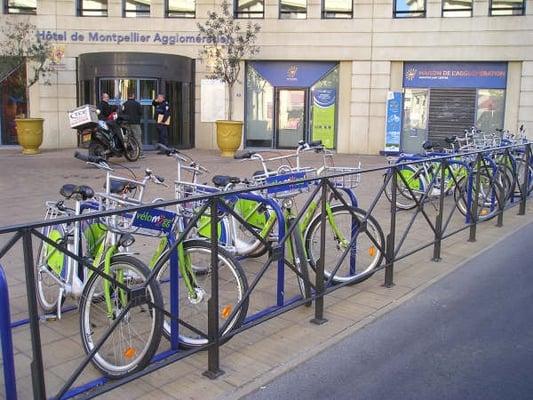 V lostation parking tramway saint jean le sec servicios para compartir bicicletas avenue de - Saint jean de vedas tram ...