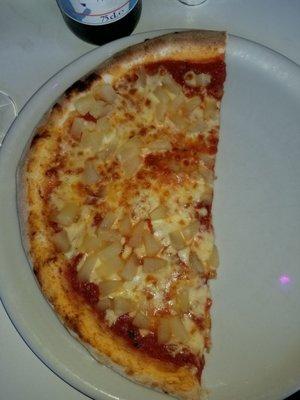 Photo Of Casa Italia Berlin Germany Half A Hawaiian Pizza Yummy