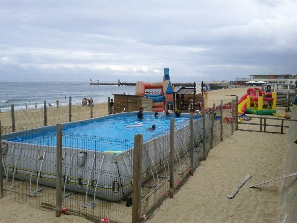 Ecole francaise des surf piscine bd francois mitterand for Piscine capbreton