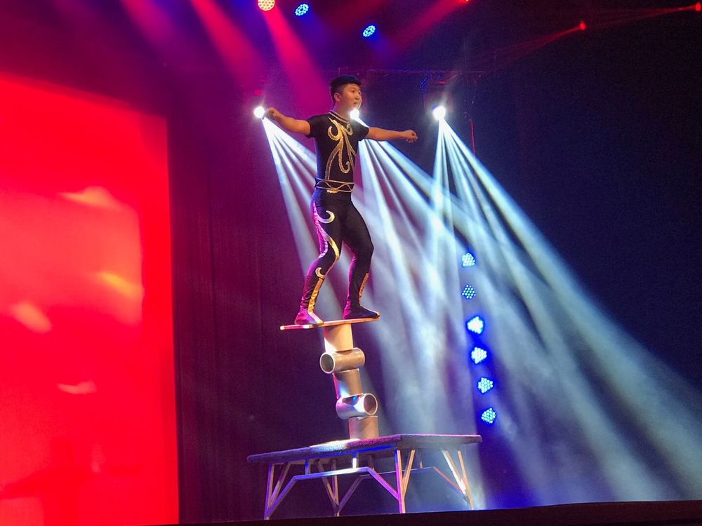Amazing Acrobats of Shanghai: 3455 W 76 Country Blvd, Branson, MO