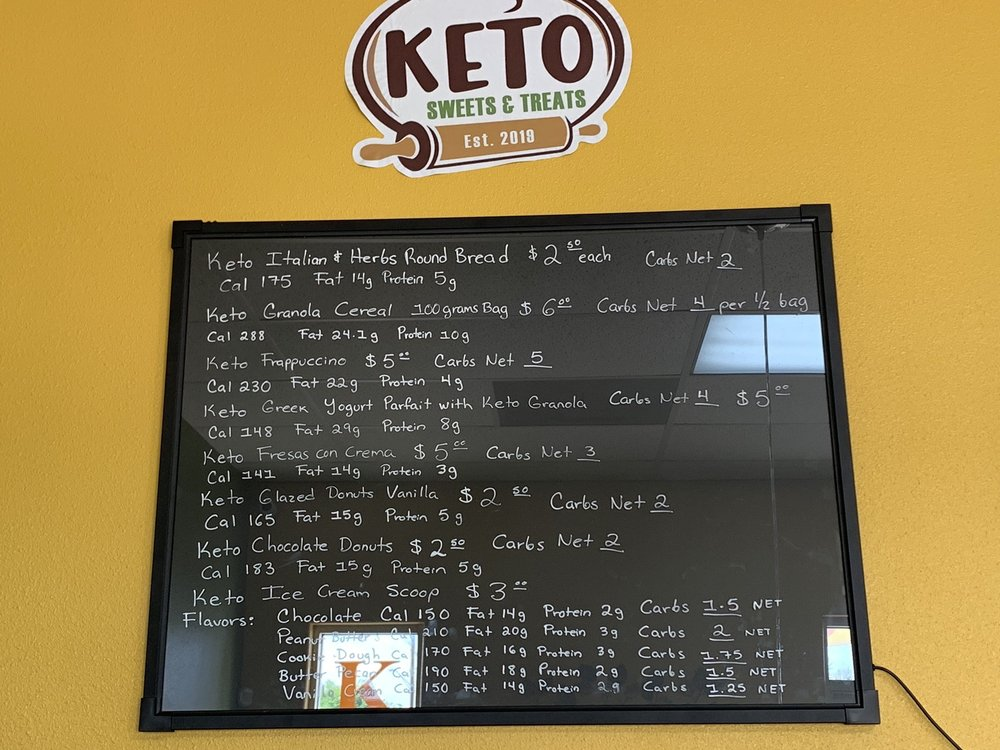 Keto Sweets And Treats: 715 E Frontage Rd, Alamo, TX
