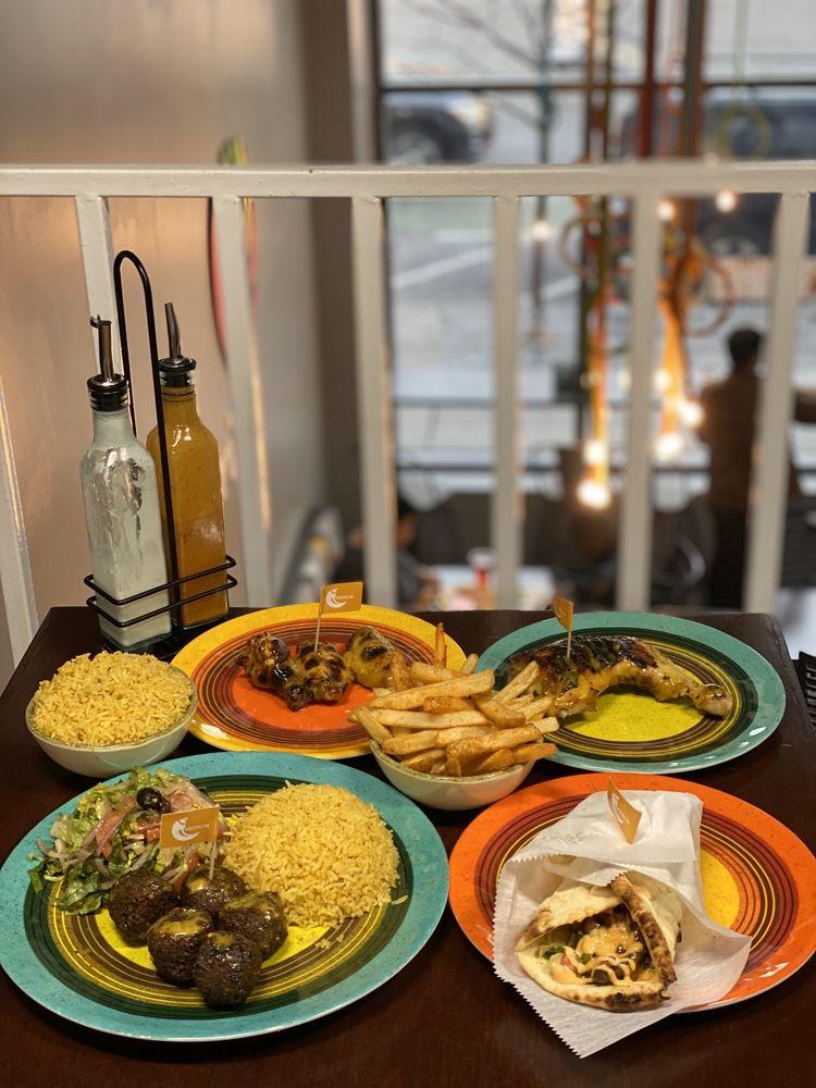 Food from Tribos Peri Peri