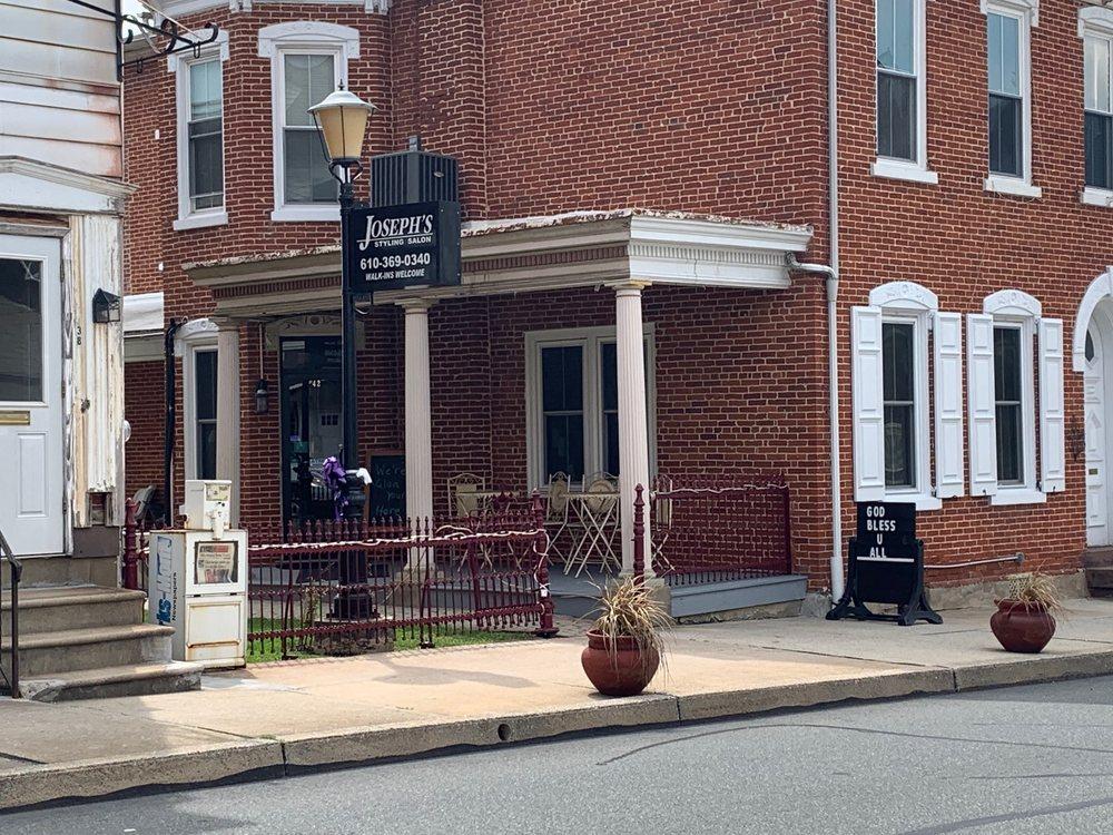 Joseph's Styling Salon: 42 S Reading Ave, Boyertown, PA
