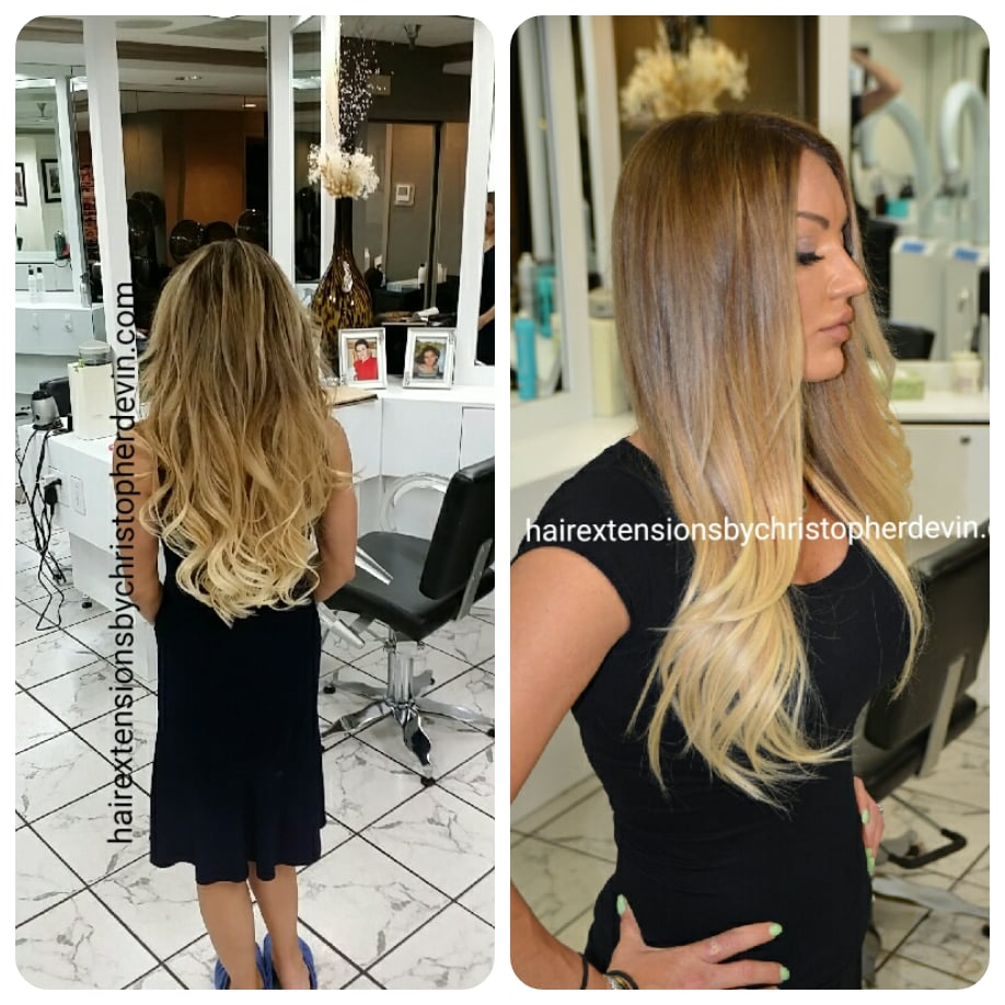 This Is An Example Of Our Ombre Balayage Hand Painted Hair