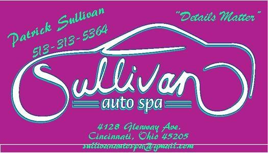 Sullivan Auto Spa: 4128 Glenway Ave, Cincinnati, OH