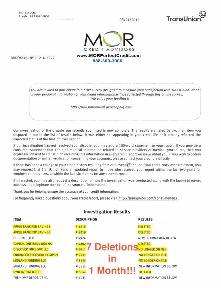 MOR Credit Advisors