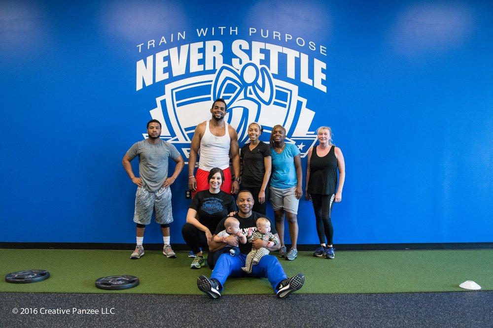 Never Settle Fitness
