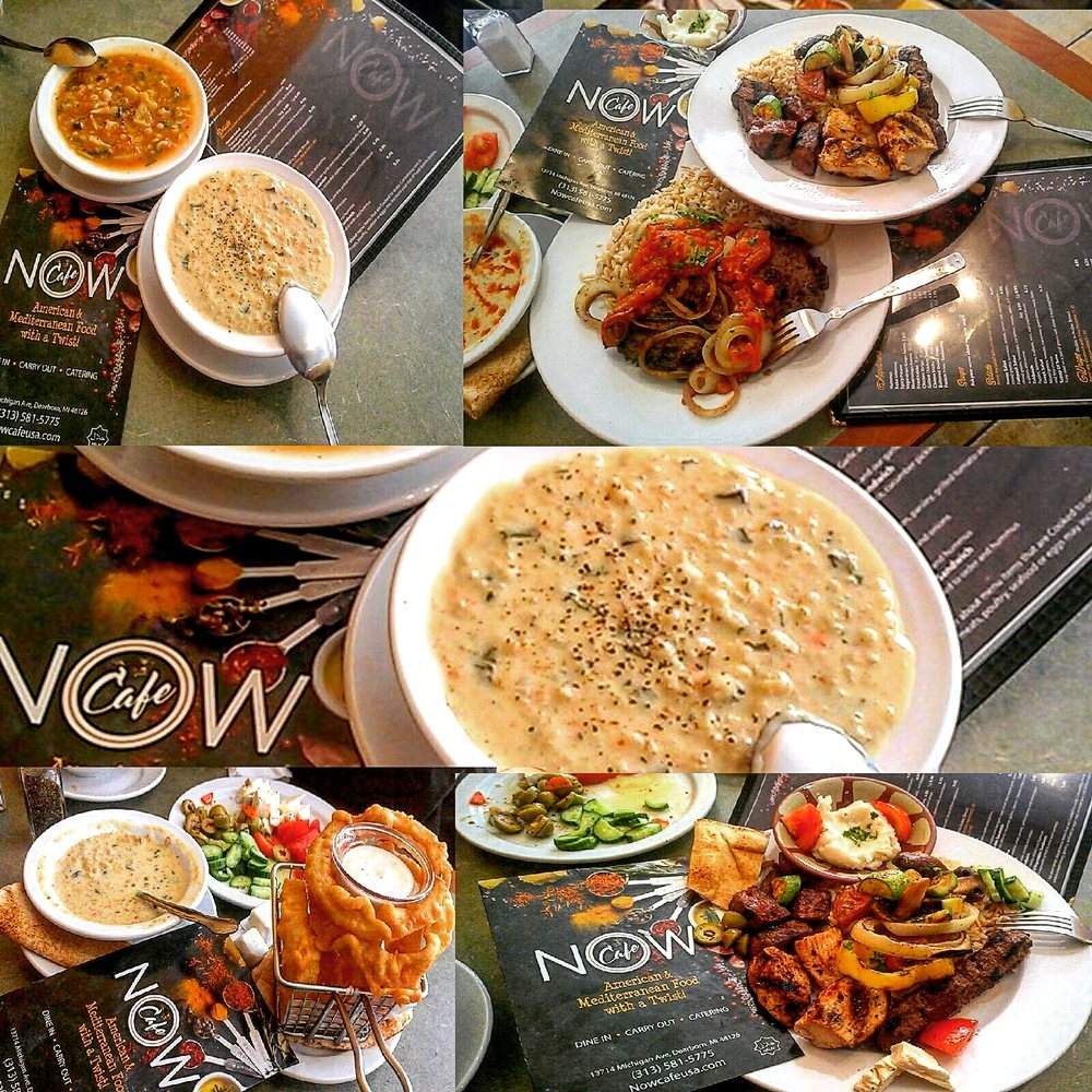 Now Cafe: 13714 Michigan Ave, Dearborn, MI