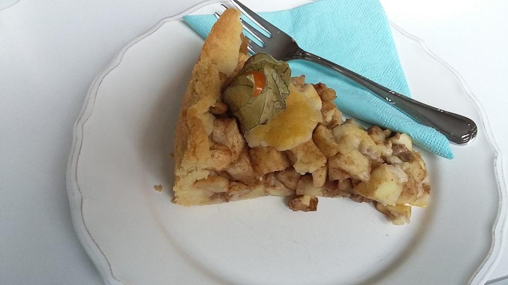 Apfel Walnuss Kuchen Mit Zimt Yelp