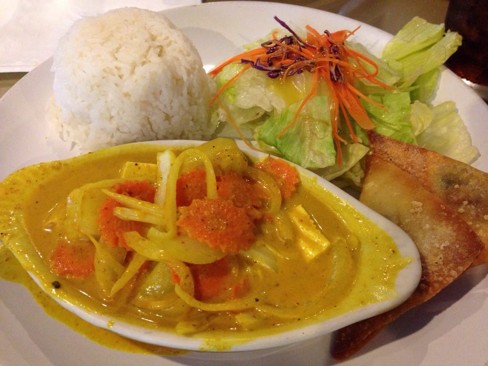 yellow curry lunch special yelp