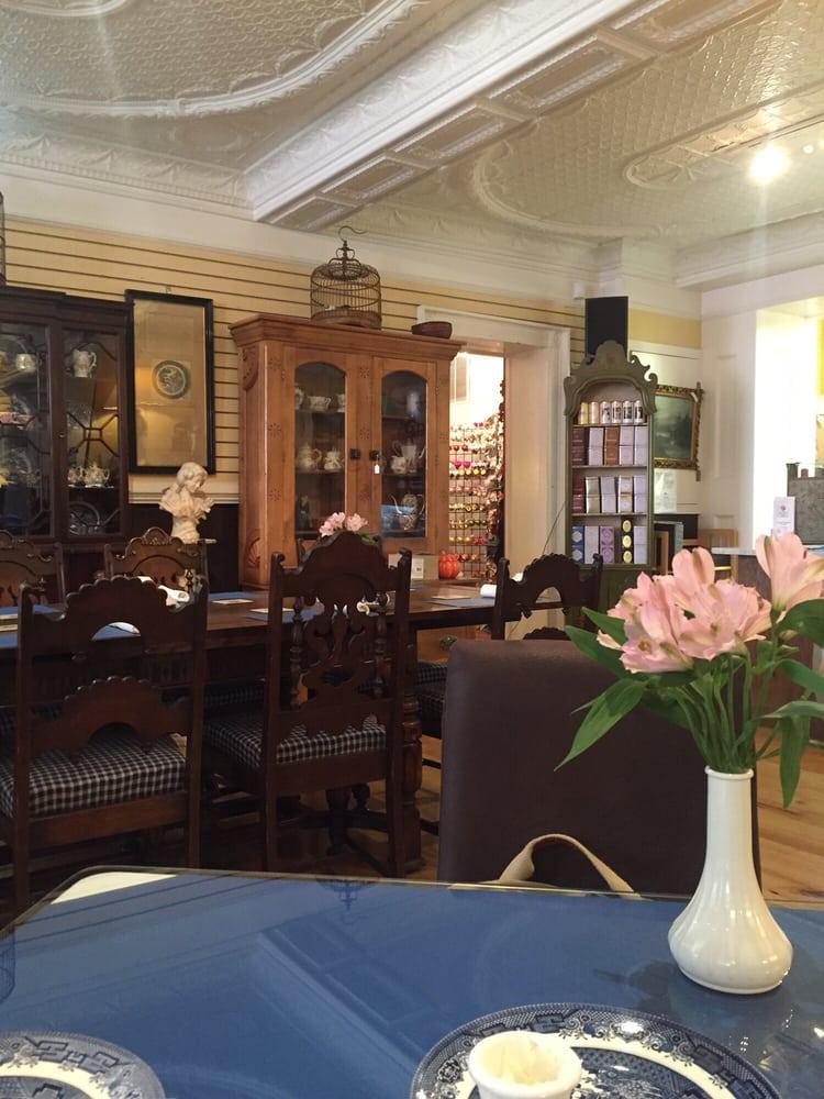 Blue Willow Tea Room Menu