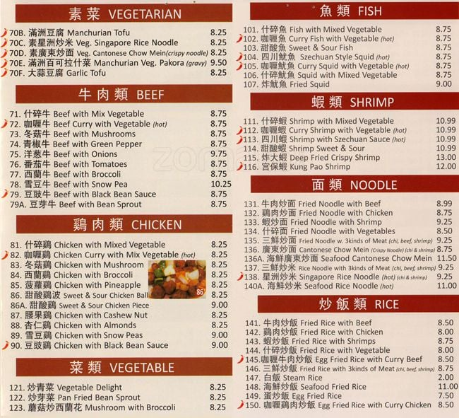 Lucky Chinese Restaurant Phone Number