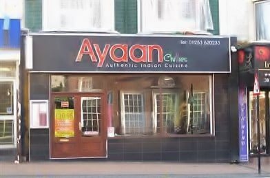 Ayaan Chillies - Fine Indian Dining Restaurant   42-44 Talbot Road, Blackpool FY1 1LF   +44 1253 620233