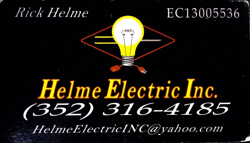 Helme Electric: 14260 W Newberry Rd, Newberry, FL