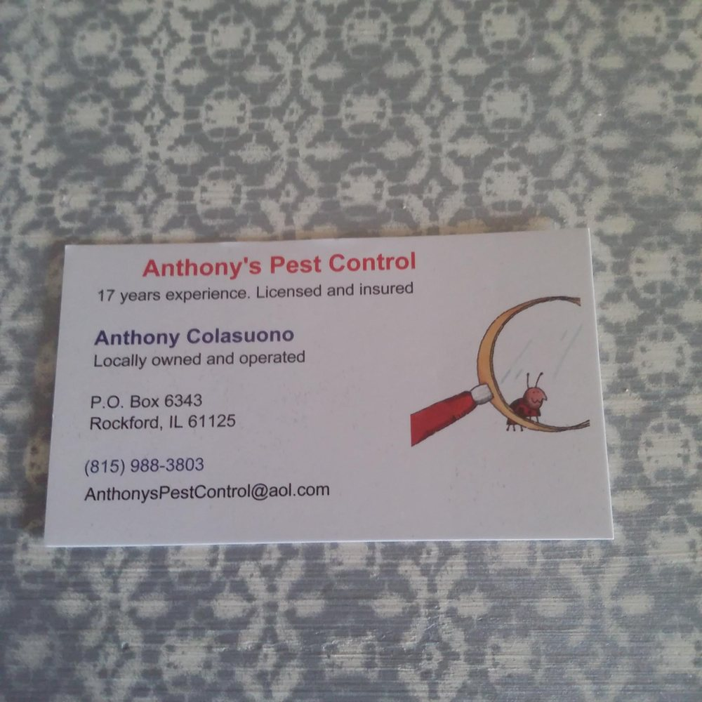 Anthony's Pest Control: Rockford, IL