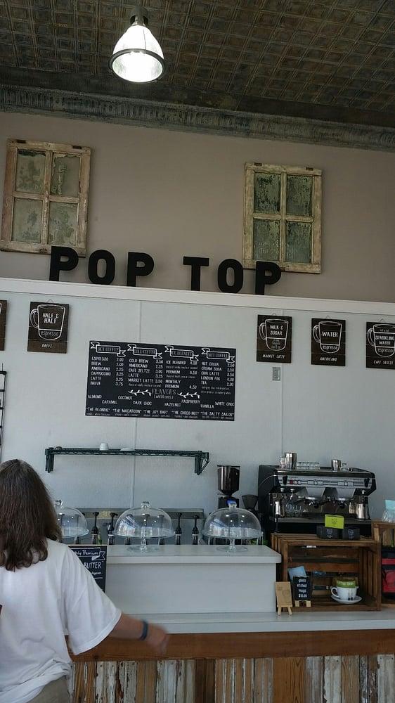 Pop Top Coffee Shop: 120 N Dallas St, Ennis, TX