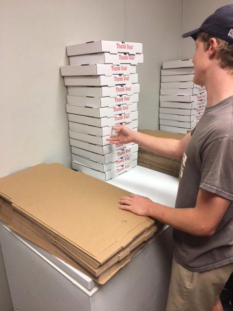 Block City Pizza: 276 Main St S, McKenzie, TN