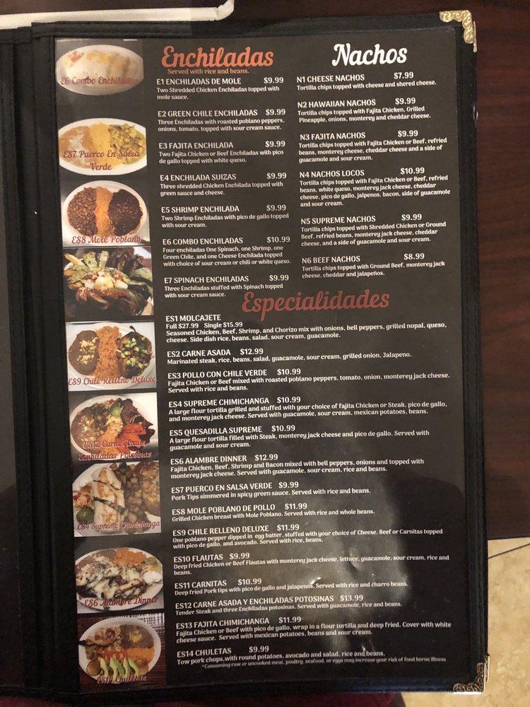 Torres Mexican Restaraunt: 1240 N Hills Shopping Center, Ada, OK