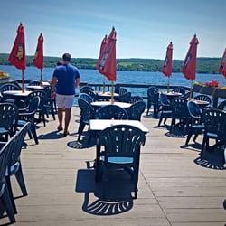 Photo Of Waterfront Restaurant Hammondsport Ny United States Waterside Dining On The
