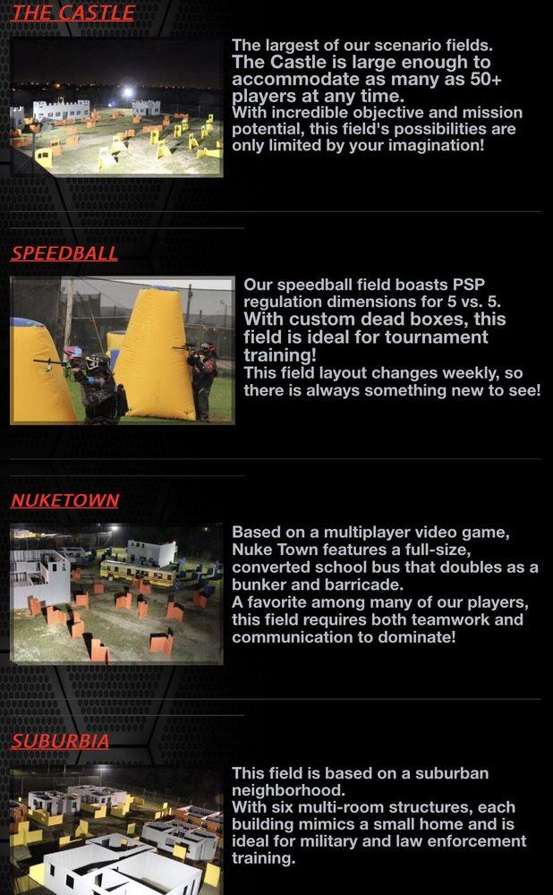 Edinburg Paintball Battlegrounds: 1207 N Tower Rd, Edinburg, TX