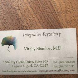 Vitaliy Shaulov, MD - 30 Reviews - Psychiatrists - 29982 Ivy