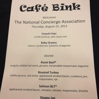 Cafe Bink Yelp