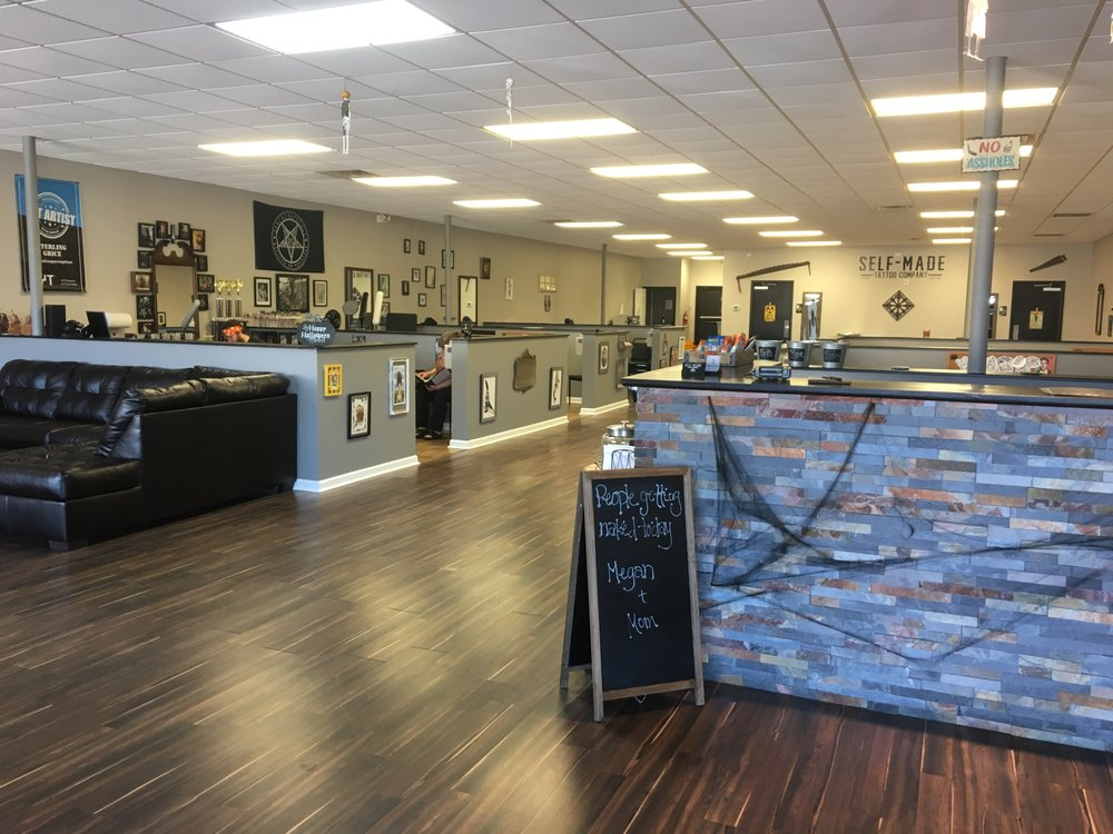 Self-Made Tattoo Company: 529 Richlands Hwy, Jacksonville, NC