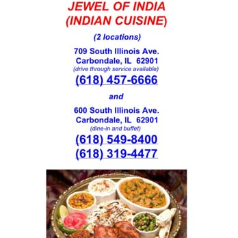 Jewel of india closed indian 800 e main st for Akbar cuisine of india coupon