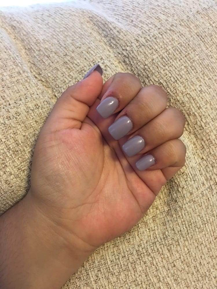 my cuticles are super bad because I bite my nails a lot, but I love ...
