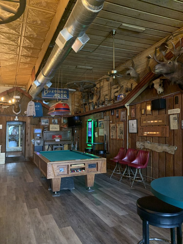 The Pioneer Bar: 210 W Wallace St, Virginia City, MT