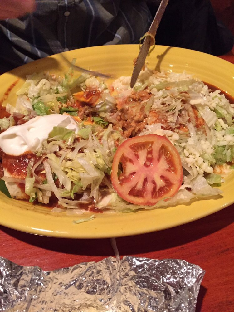 Food from Casa Grande Mexican Restaurant