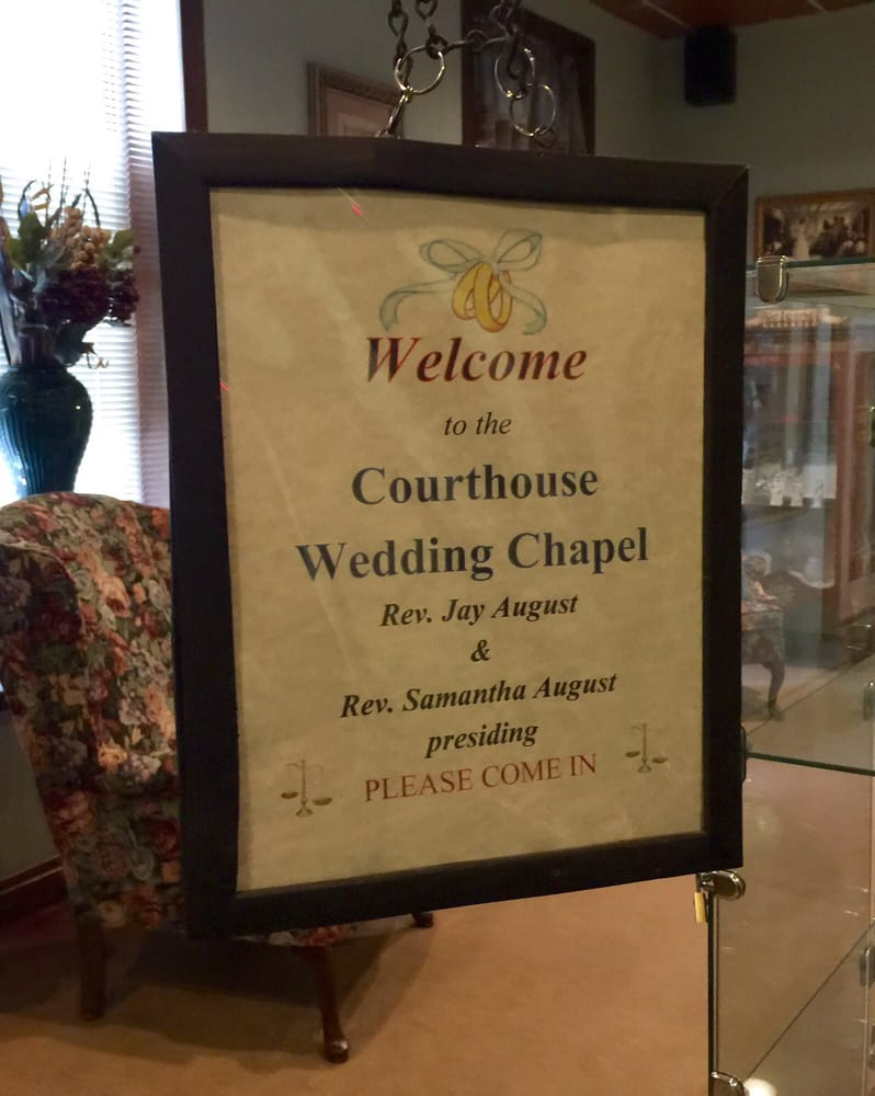 Photos For Courthouse Wedding Chapel