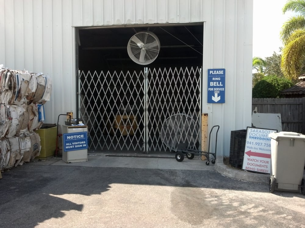 Sarasota Document Shredding: 4563 Mariotti Ct, Sarasota, FL