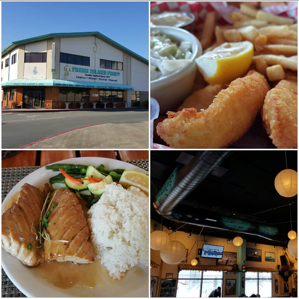 Uncle s fish market grill 680 photos 470 reviews for Honolulu fish market