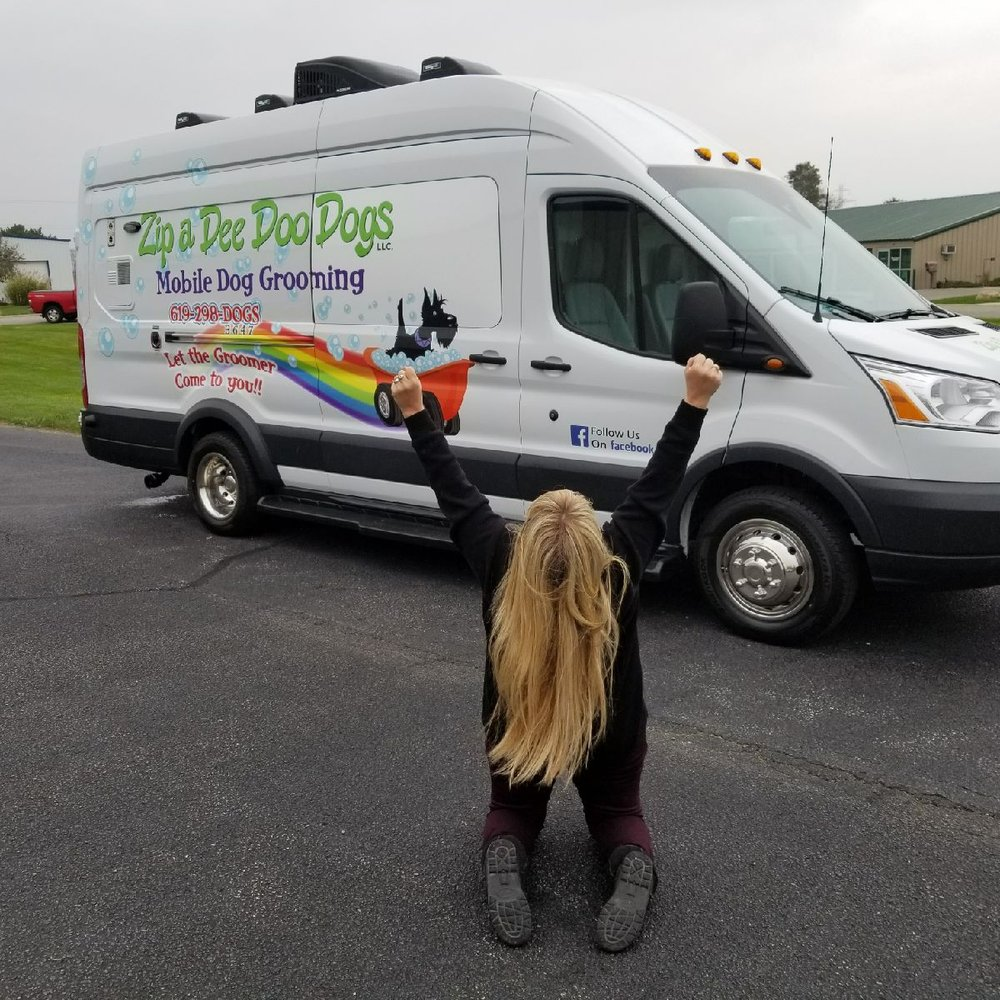 Zip a Dee Doo Dogs Mobile Dog Grooming