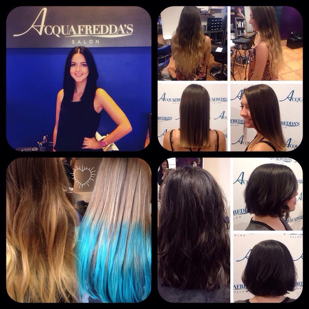 New talent hailey rhome transformations color for Acquafredda salon