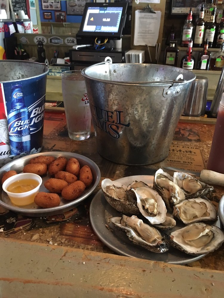 Shuckin' Shack: 6 N Lake Park Blvd, Carolina Beach, NC