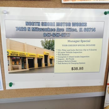 North shore motor works 33 reviews garages 7420 n for North shore motor works