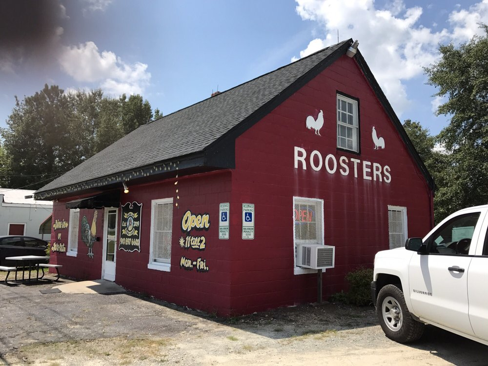 Roosters Take Out: 494 S McKinley St, Coats, NC