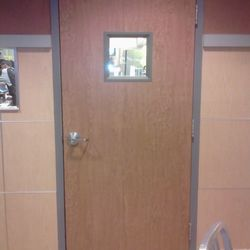 Photo Of Ru0026R Door   Dearborn, MI, United States. Steel Frame With Wood
