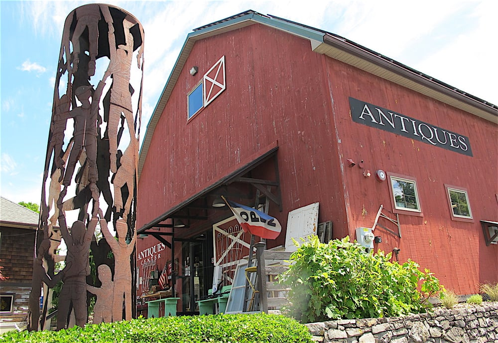 Antiques Barn: 10 Main St, New Paltz, NY