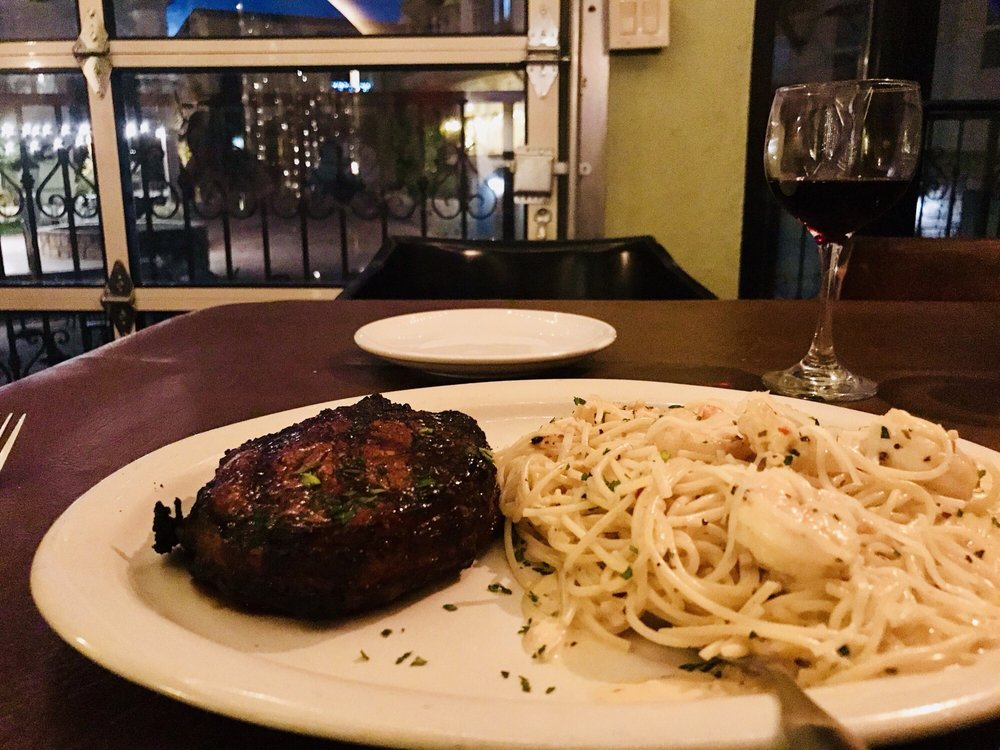 The Grape Italian Steakhouse: 6350 Escondido Dr, El Paso, TX