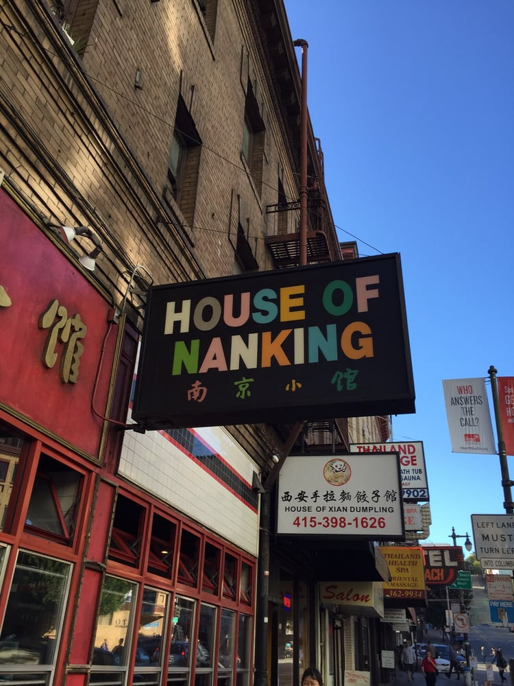 House Of Nanking Restaurant San Francisco