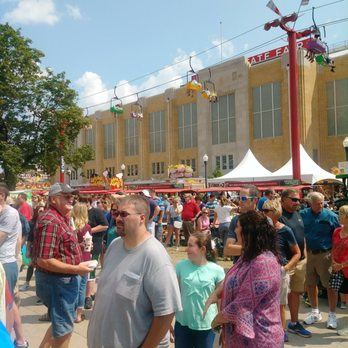 Indiana State Fair Map Celetion on