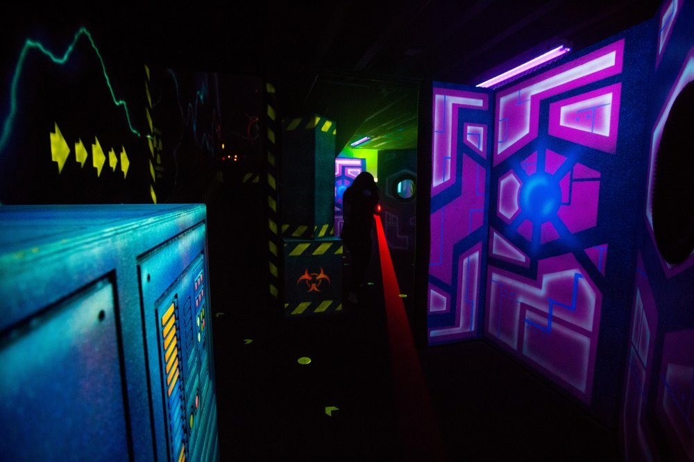 Blast City Laser Tag: 618 Lindero Canyon Rd, Oak Park, CA