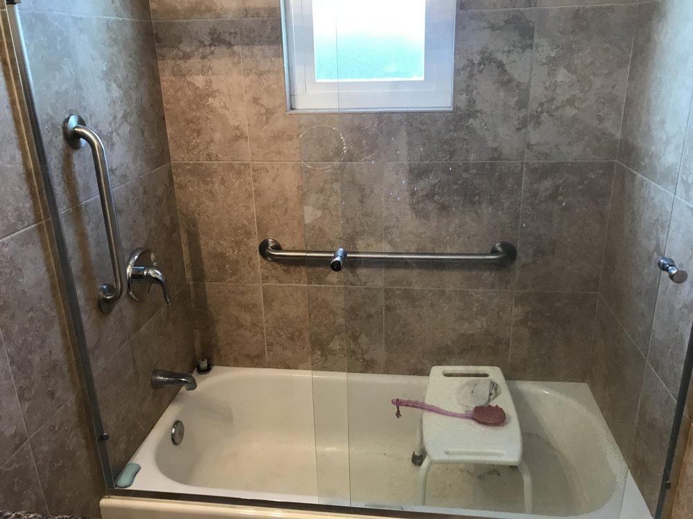 Shower grab bar installations #GrabBarInstallation - Yelp