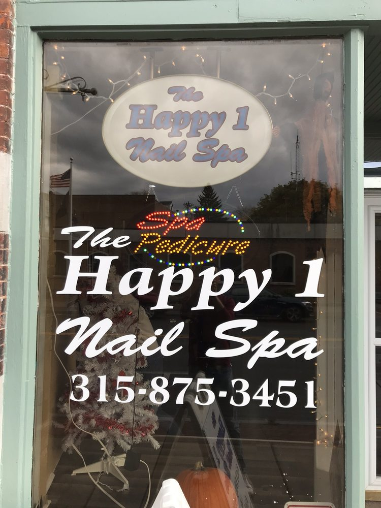 Happy One Nails Spa: 218 S Peterboro St, Canastota, NY