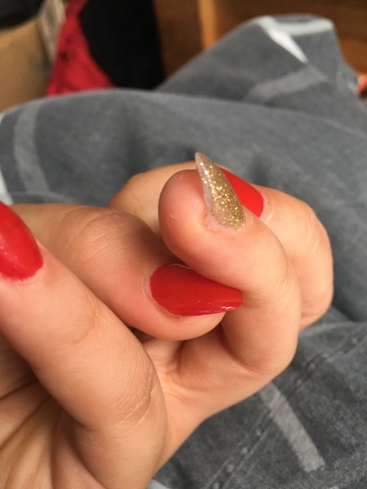 LA Nails: 1911 N Greensburg Xing, Greensburg, IN