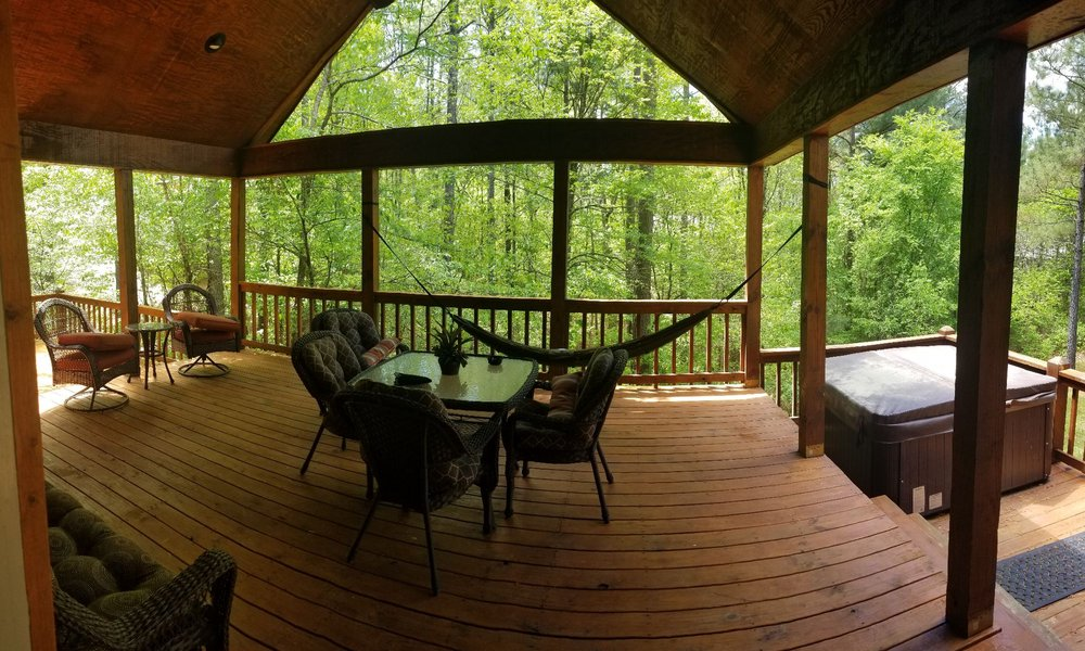 Hidden Hills Cabins: 49 Plum Branch Rd, Broken Bow, OK
