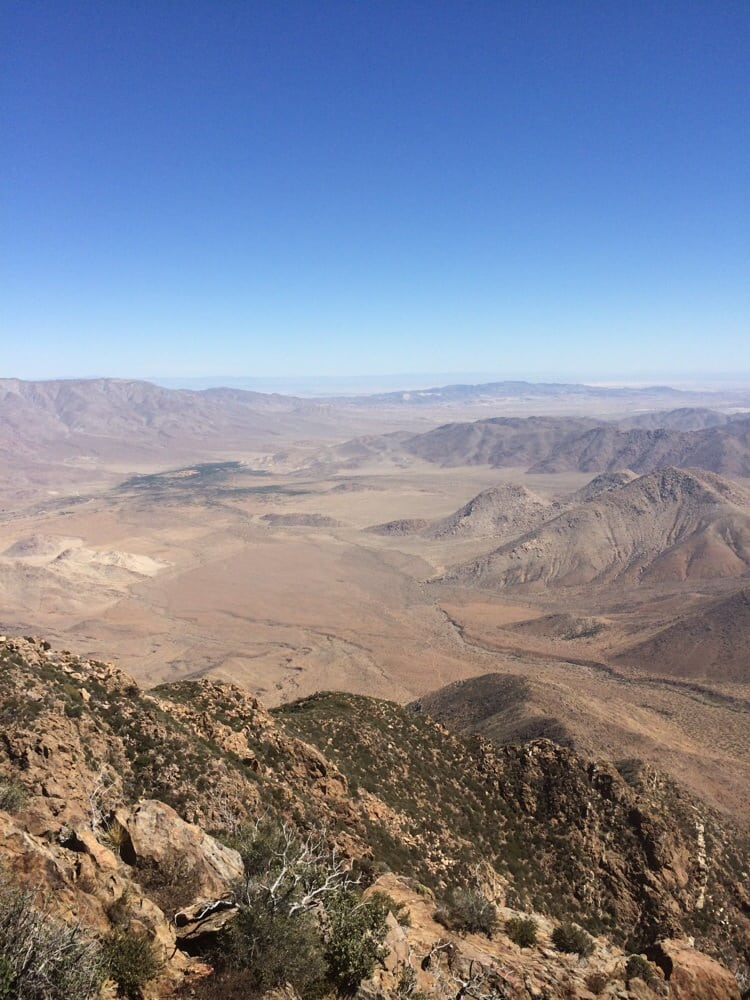 Pacific Crest Trail At Penny Pines - Hiking - Pine Valley ...